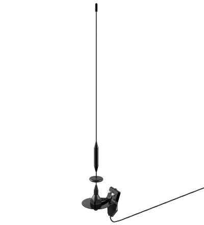 Digital TV ( DVB-T / DVB-T2 bilantenne) auto antenne med klemmemontering