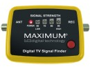 MAXIMUM Digital TV Signal finder, 9V batteridrift. Justér selv din DVB-T antenne til max signal.