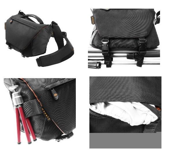 Everki kamerataske for SLR kamerahus og to linser