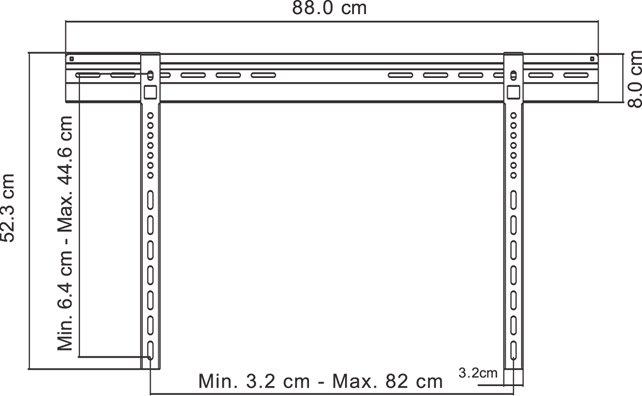 GM110 ophæng til fladskærm
