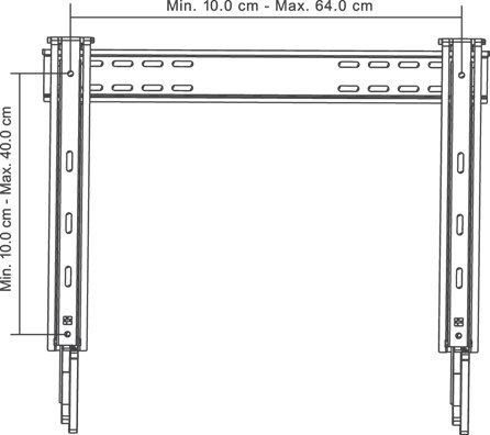 Grape GM230 ophæng til fladskærm
