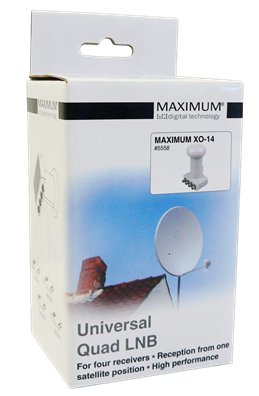 Maximum XO-14 quad LNB