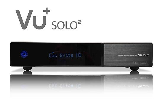 VU+ Solo2 HD linuxbaseret digitalmodtager for parabol.