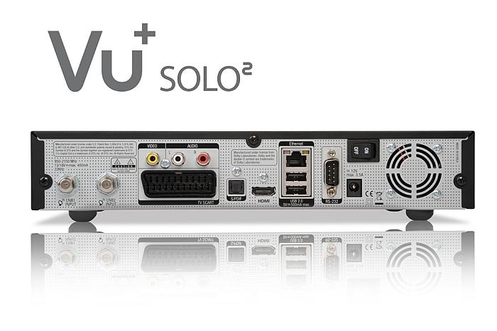 VU+ Solo2 HD linuxbaseret digitalmodtager